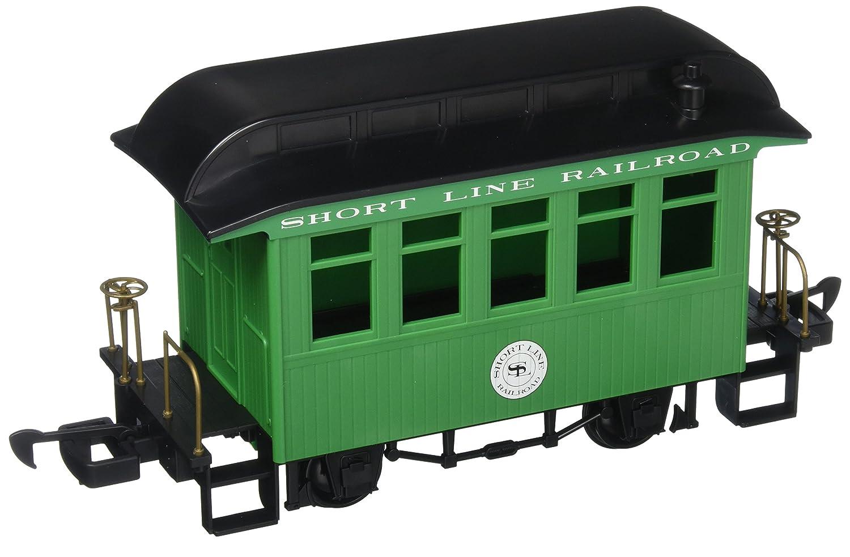 限定価格セール! Bachmann Industries Li'l Big Haulers 鉄道模様 Li'l コーチ Lサイズ Gスケール ショートライン 鉄道模様 グリーン/ブラックルーフ Lサイズ B0090T9U3U, 株式会社利研ジャパン:f8333cb4 --- a0267596.xsph.ru