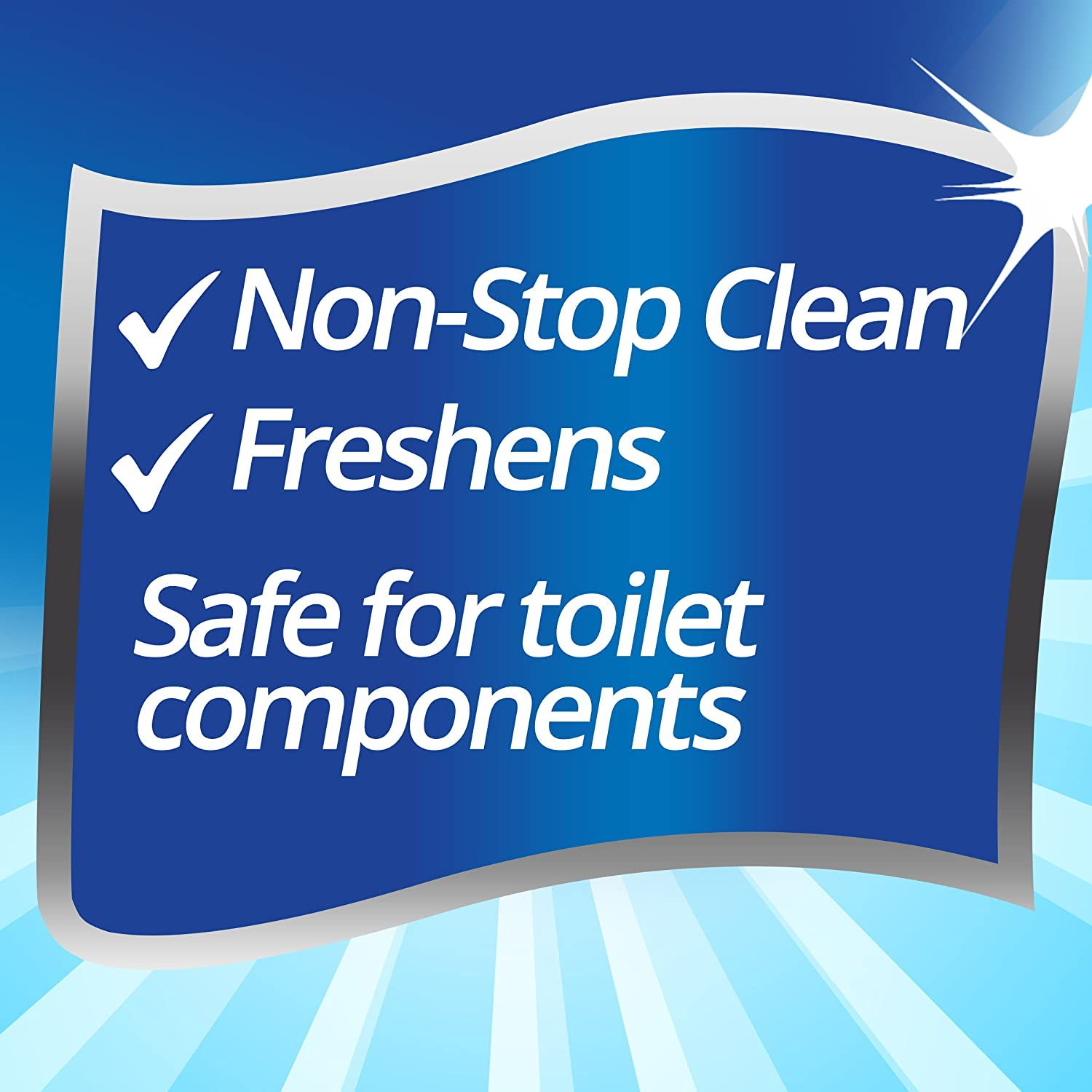 4Count Alpine Fresh Soft Scrub in-Tank Toilet Cleaner Duo-Cubes