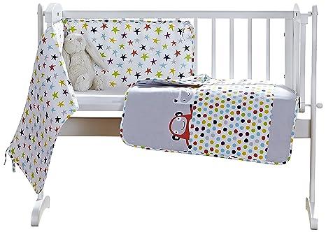 Ropa de cama para cuna de Clair de Lune: Amazon.es: Bebé