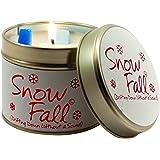 Lily Flame Snowfall Tin, Pink