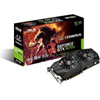 ASUS Cerberus GeForce GTX 1070 Ti 8GB GDDR5 Advanced Edition VR Ready DP HDMI DVI Gaming Graphics Card