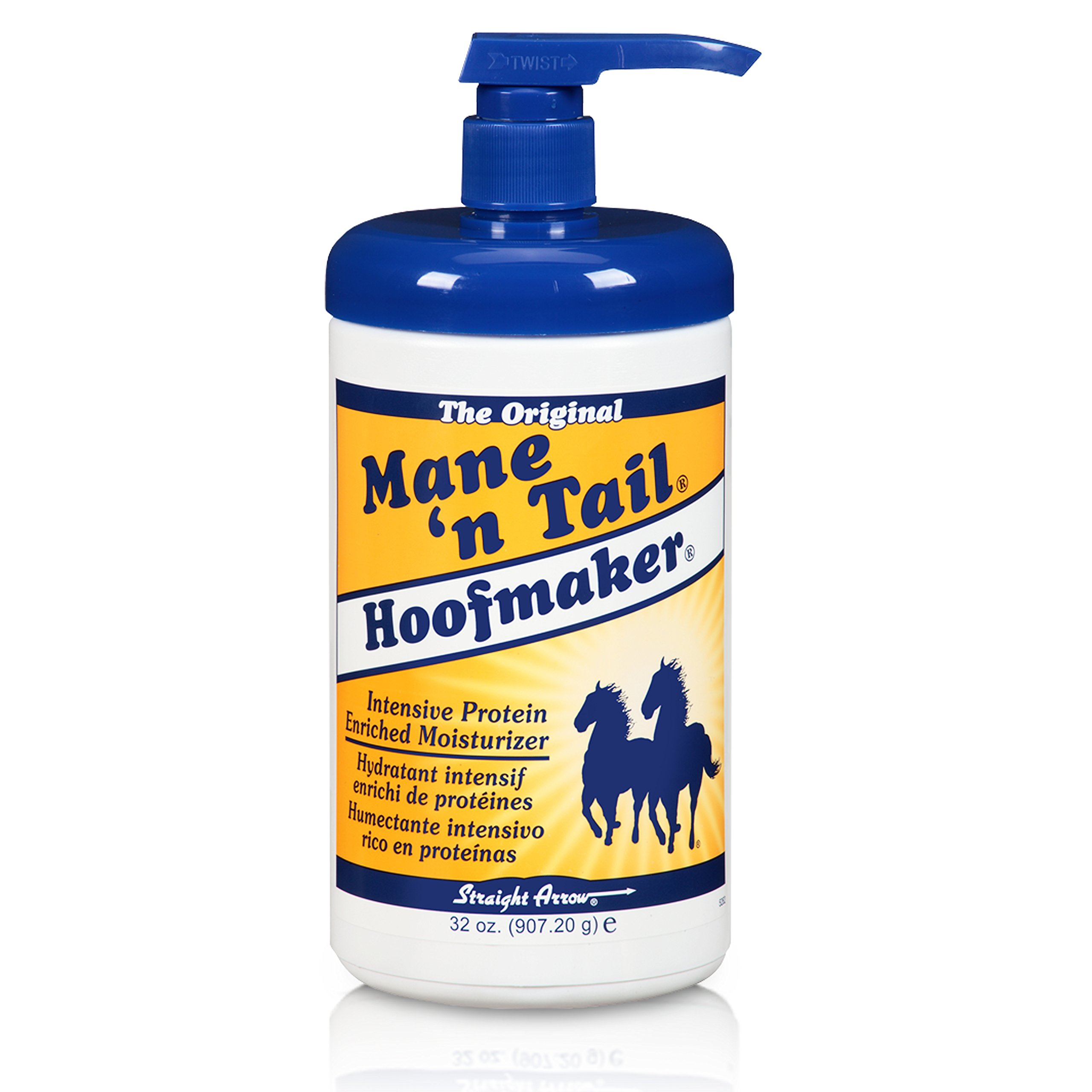 Mane 'n Tail Hoofmaker Hand & Nail Therapy Lotion 32 Ounce with Pump by Mane 'n Tail