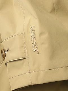 Gore-Tex Polyester Balmacaan Coat 114-11-0562: Beige