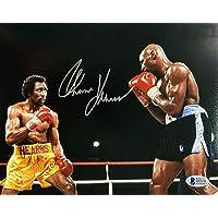 $57 » Autographed Thomas Hearns Photo - Tommy Hitman 8x10 Hagler Beckett BAS COA - Beckett Authentication - Autographed Boxing Photos