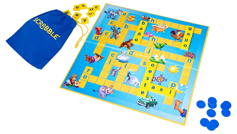 Mattel Games - Juego de mesa para niños Scrabble junior (Mattel Y9669): Amazon.es: Juguetes y juegos