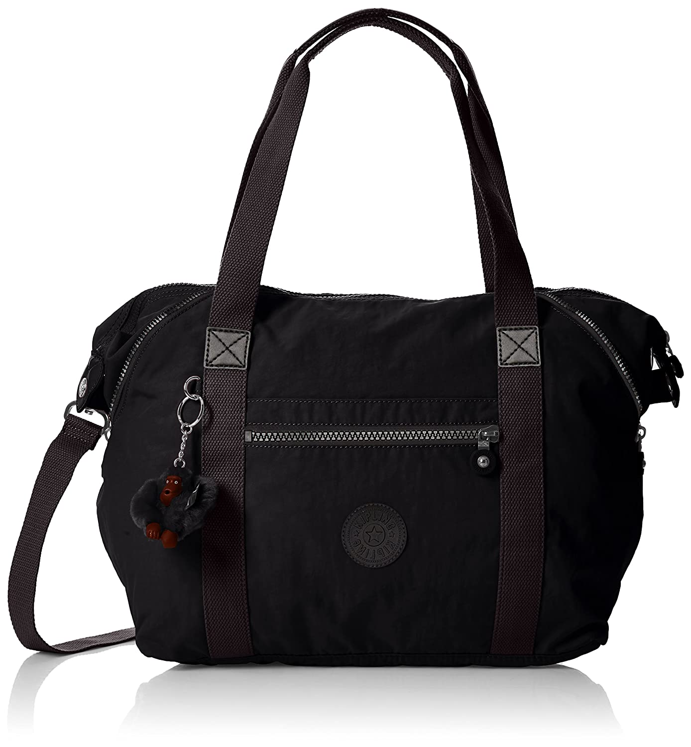 Black (True Black) Kipling Women's Art Crossbody Bag