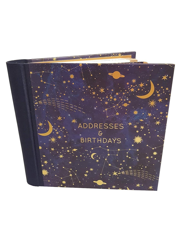 The Art File - Constellation Hardback Address & Birthday Book