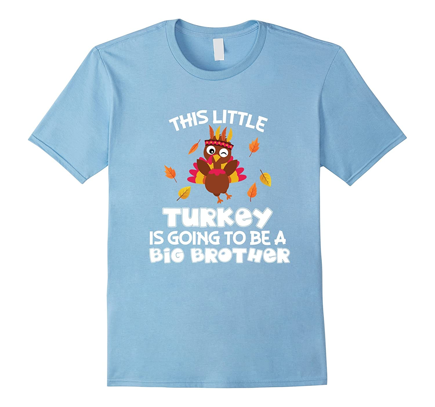 ee98a469a Thanksgiving Pregnancy Announcement Reveal T Shirt For Boys-ANZ ...