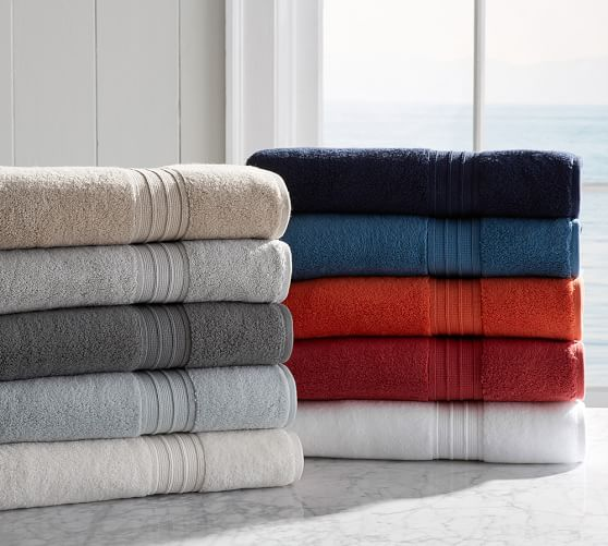 Hydrocotton Quick-Drying Bath Towels | Pottery Barn