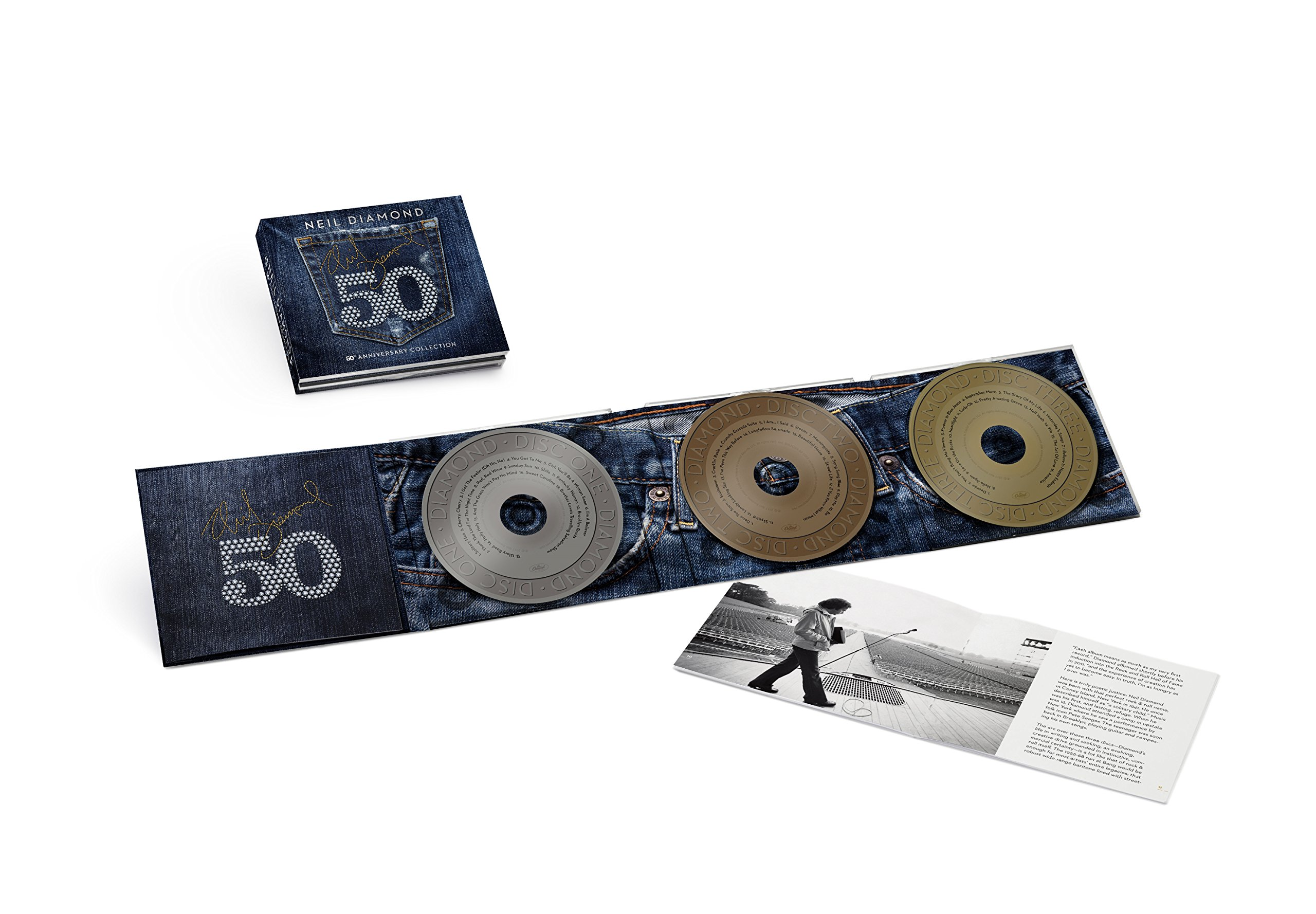 50th Anniversary Collection [3 CD] by Capitol