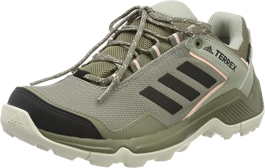adidas Terrex EASTRAIL GTX W, Zapatillas de Trail Running para Mujer, Bc0979 Trace Cargo Core Black Clear Orange, 37 1/3 EU: Amazon.es: Zapatos y complementos