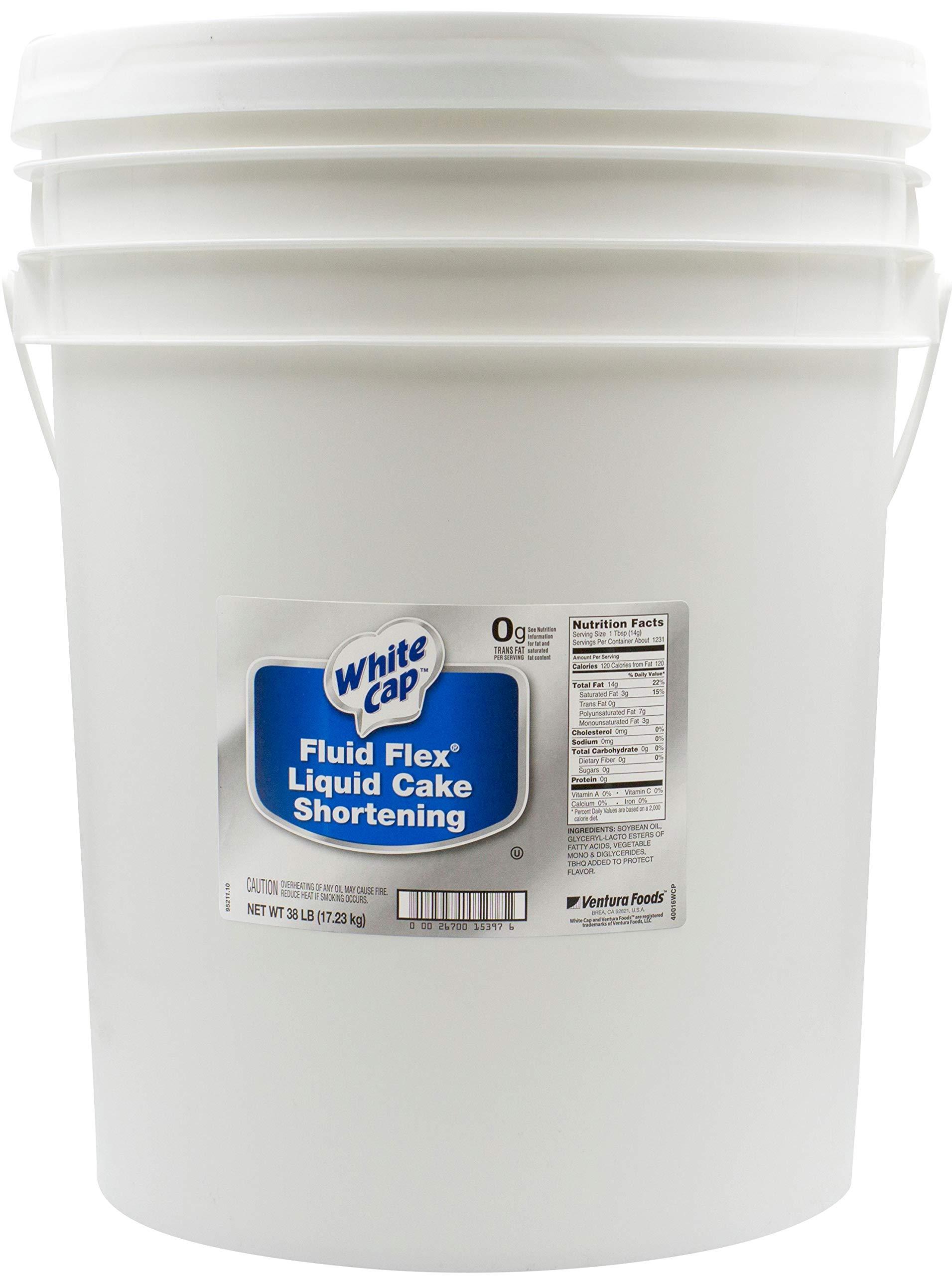 White Cap Cake Shortening Liquid, 38 Pound - 1 each.