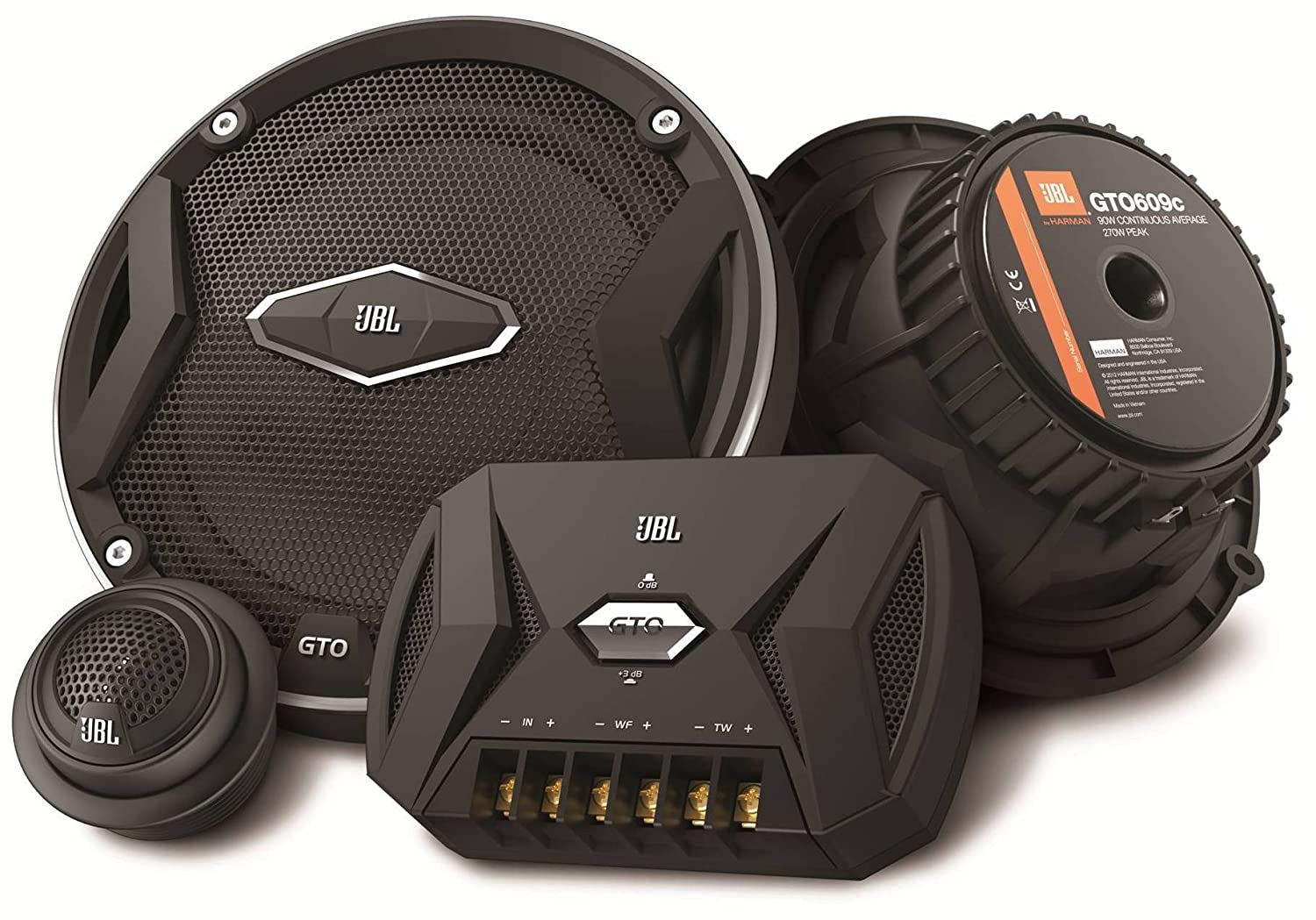 Amazon.com: JBL GTO609C Premium 6.5-Inch Component Speaker System - Set of  2: Car Electronics