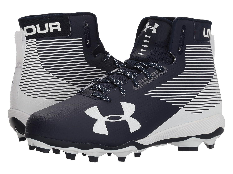 (アンダーアーマー) UNDER ARMOUR メンズフットボールアメフトシューズ靴 UA Hammer MC Midnight Navy/White 9 (27cm) D Medium B07CP4JF8K
