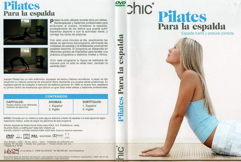 Pilates para la Espalda DVD [DVD]: Amazon.es: Cine y Series TV