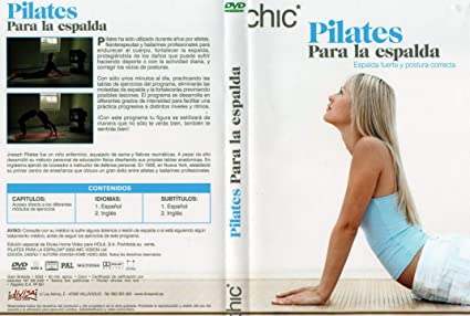Pilates para la Espalda DVD [DVD]: Amazon.es: Cine y Series TV