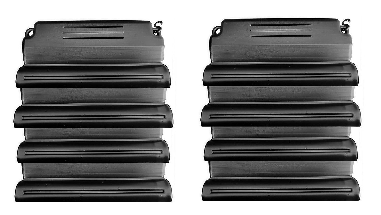 well2wellness® Hochwertiges Pool Eisdruckpolster Set - 8 Stück mit Sand beschwert + Verbindungshaken Pool + Sauna Bräunig GmbH