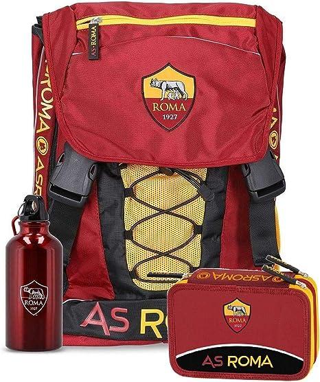 astuccio 3 cerniere completo-school pack Roma A.S zaino scuola