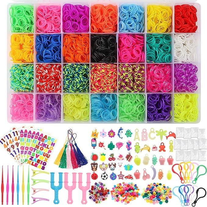 Neongelb Rainbow Loom Elastische B/änder