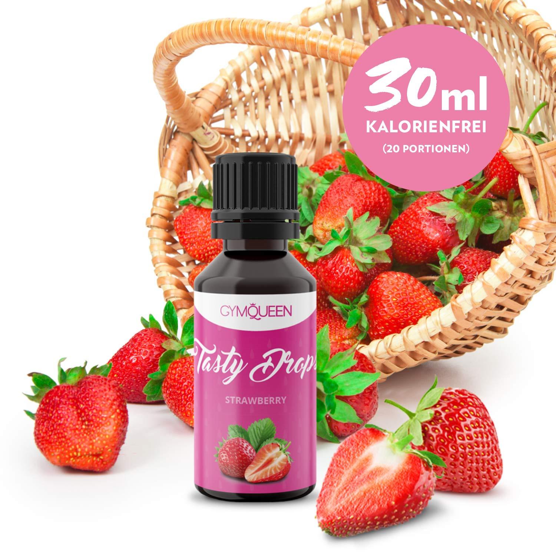 Flav Drops sin azúcar y calorías – Saborizante con sucralosa – Edulcorante aromatizado líquido – GymQueen Tasty Drops - Producto Alemán – Botella de ...