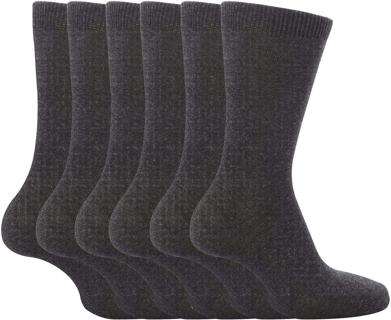 Bahob/® 3 6 12 Pair Pack Boys Girls Back to School Ankle Socks White Black Navy Grey Size 6-8 4-6 12-3 9-12
