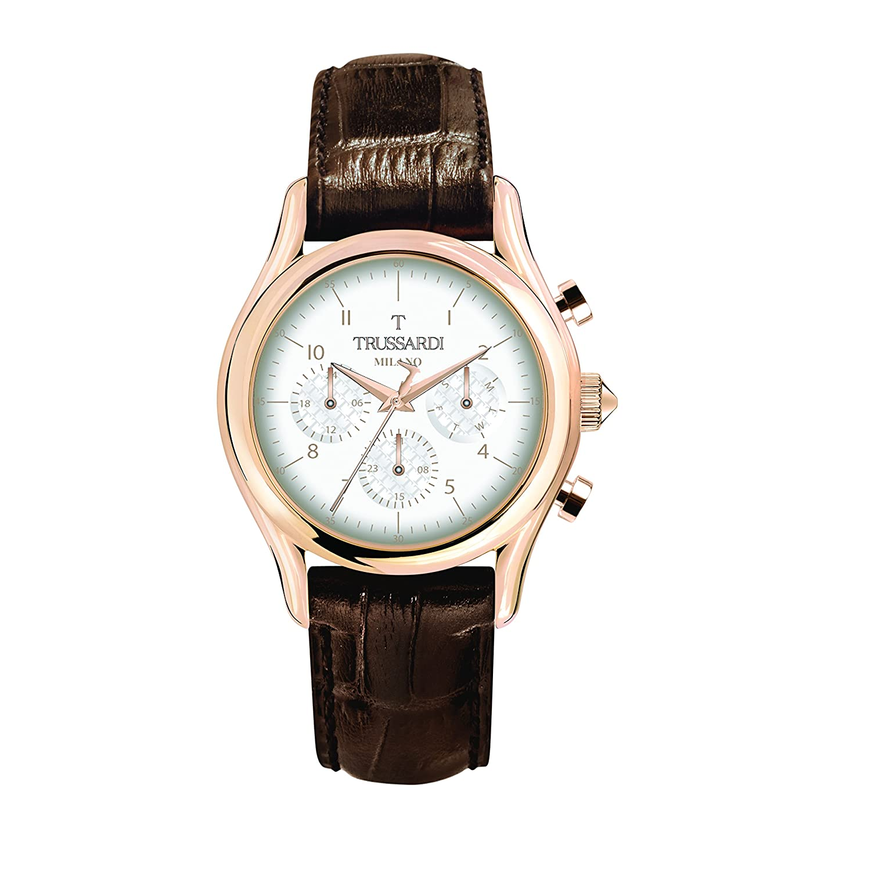 Trussardi Uhr Multi Zifferblatt Mit Armband Leder Herren Quarz c4AS3RjLq5