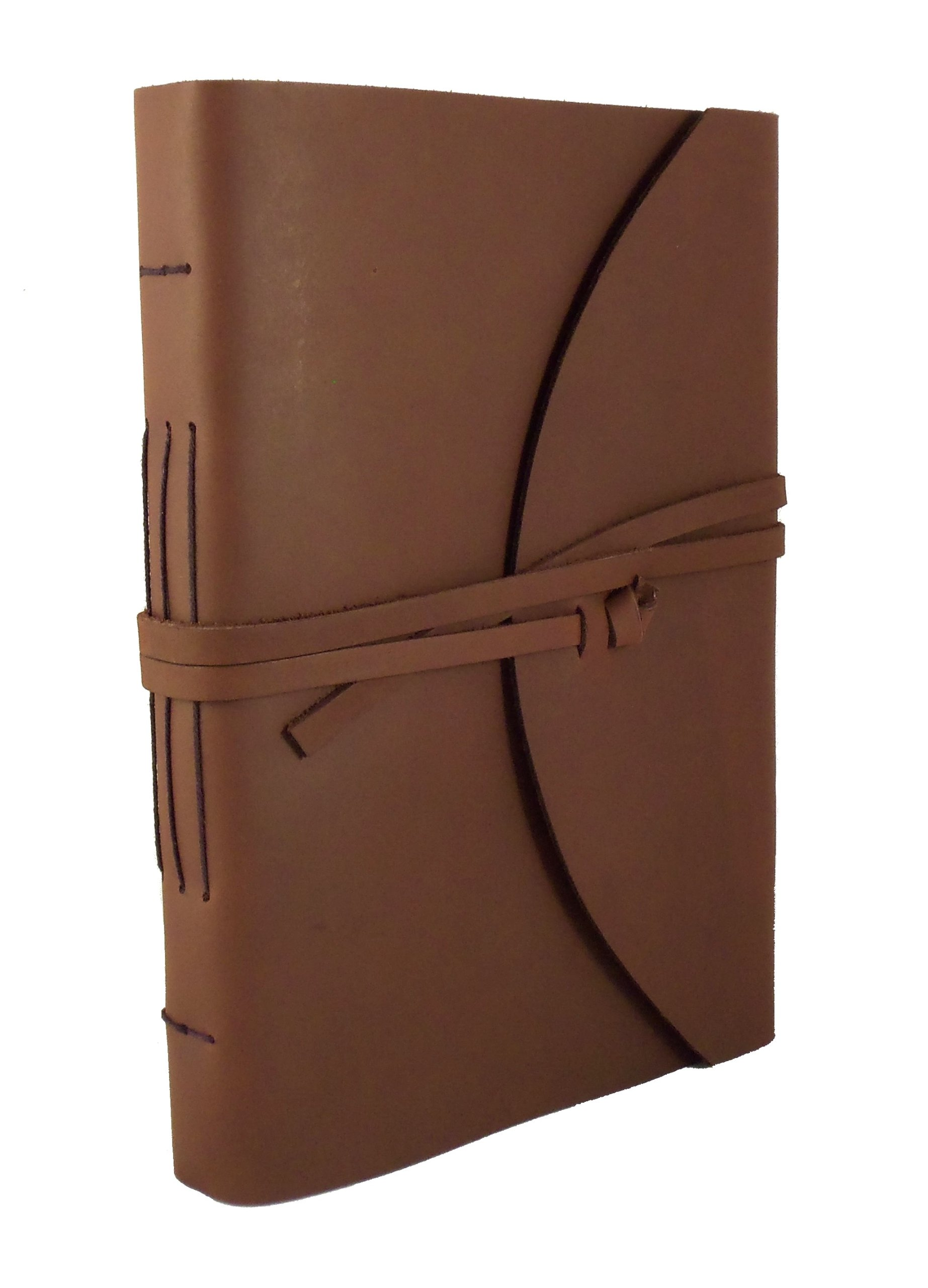 Large Genuine Leather Legacy Photo Album with Gift Box - 9''x 12'' - Scrapbook Style Pages - Holds 200 4x6 or 5x7 Photos by Rustic Ridge Leather