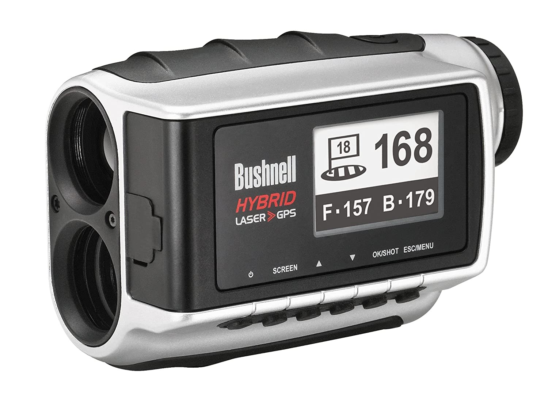 Bushnell Gps Entfernungsmesser : Bushnell laser und gps entfernungsmesser hybrid silber eu