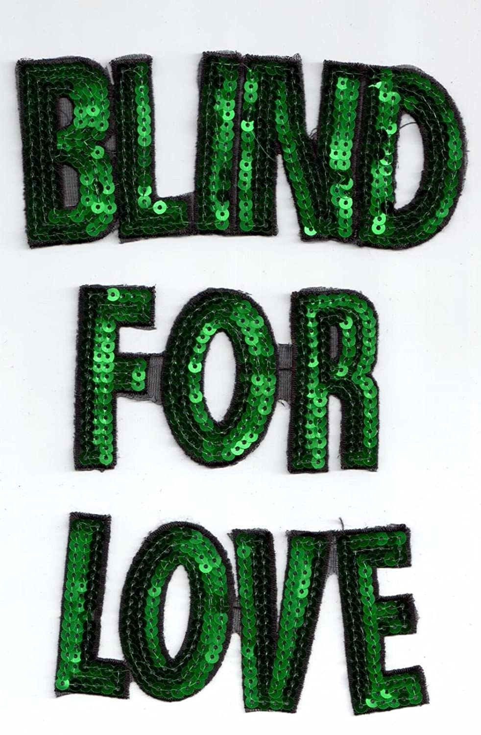 5a932f74737 Amazon.com  Sequin Patches  Blind For Love  Arts