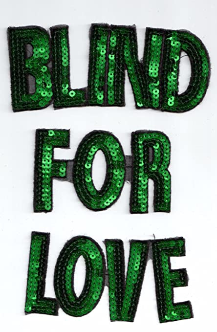 e291e2afd Amazon.com: Sequin Patches: Blind For Love: Arts, Crafts & Sewing