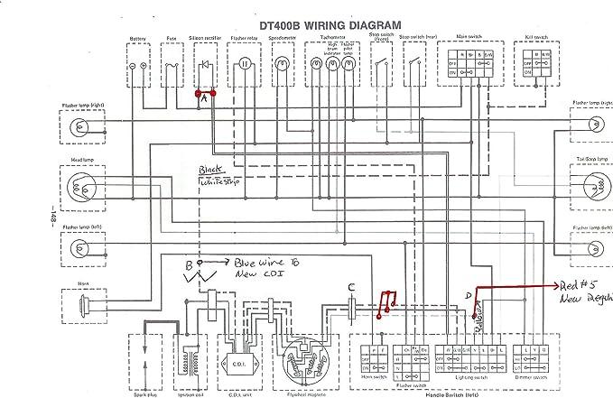 72 yamaha 100 wiring diagram amazon com powerdynamo vape ignition system ac stator compatible  powerdynamo vape ignition system ac