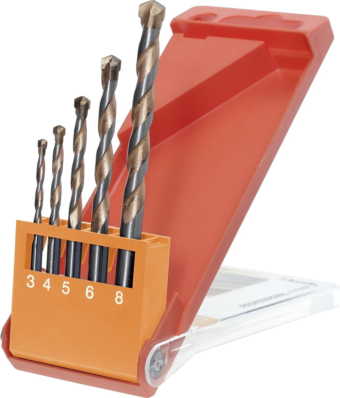 048-660 kwb Easy-Cut Foret universel 048630 /ø 3 mm, queue ronde, pour pierre, b/éton, c/éramique, bois dur et mou, plastique et acrylique, acier, verre et cristal