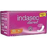 INDAS INDASEC Compresa Incontinencia Maxi 15 unidades