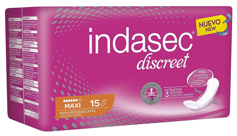Indasec - Compresa para Pérdidas, Leves Micro - 28 Compresas: Amazon.es: Belleza