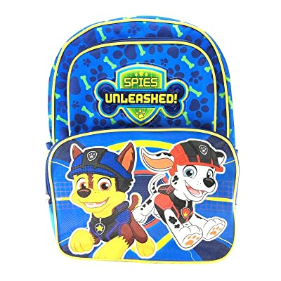 """high-quality Paw Patrol Spies Unleashed 16"""" Cargo Backpack"""