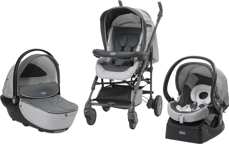 Chicco 0079263430000 - Pack silla de paseo trio living smart romantic: Amazon.es: Bebé