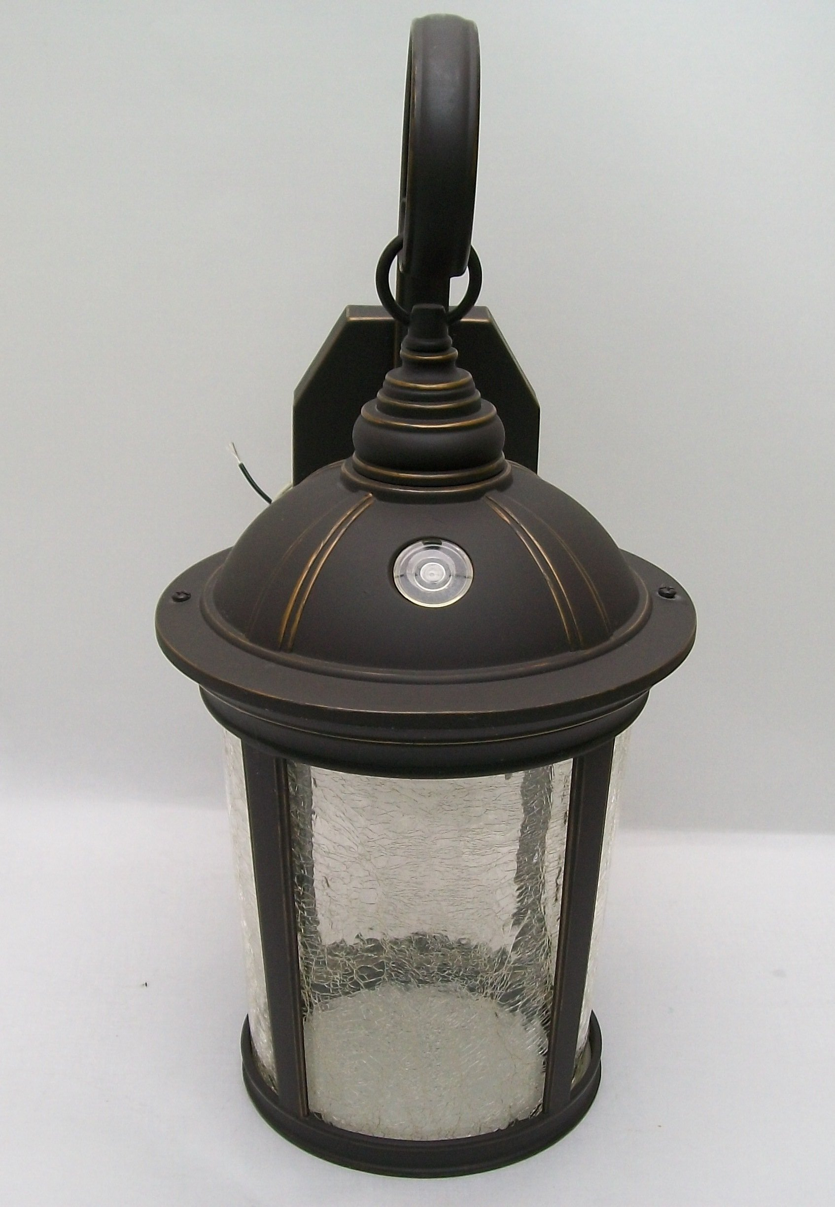 Altair Lighting Outdoor LED Lantern, 950 Lumen LED, Dusk/Dawn, With Optional Arm Kit, Aged Bronze Patina Finish - AL-2150
