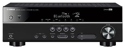 Yamaha HTR-3068 70W 5.1canales Envolvente 3D Negro - Receptor AV (70 W