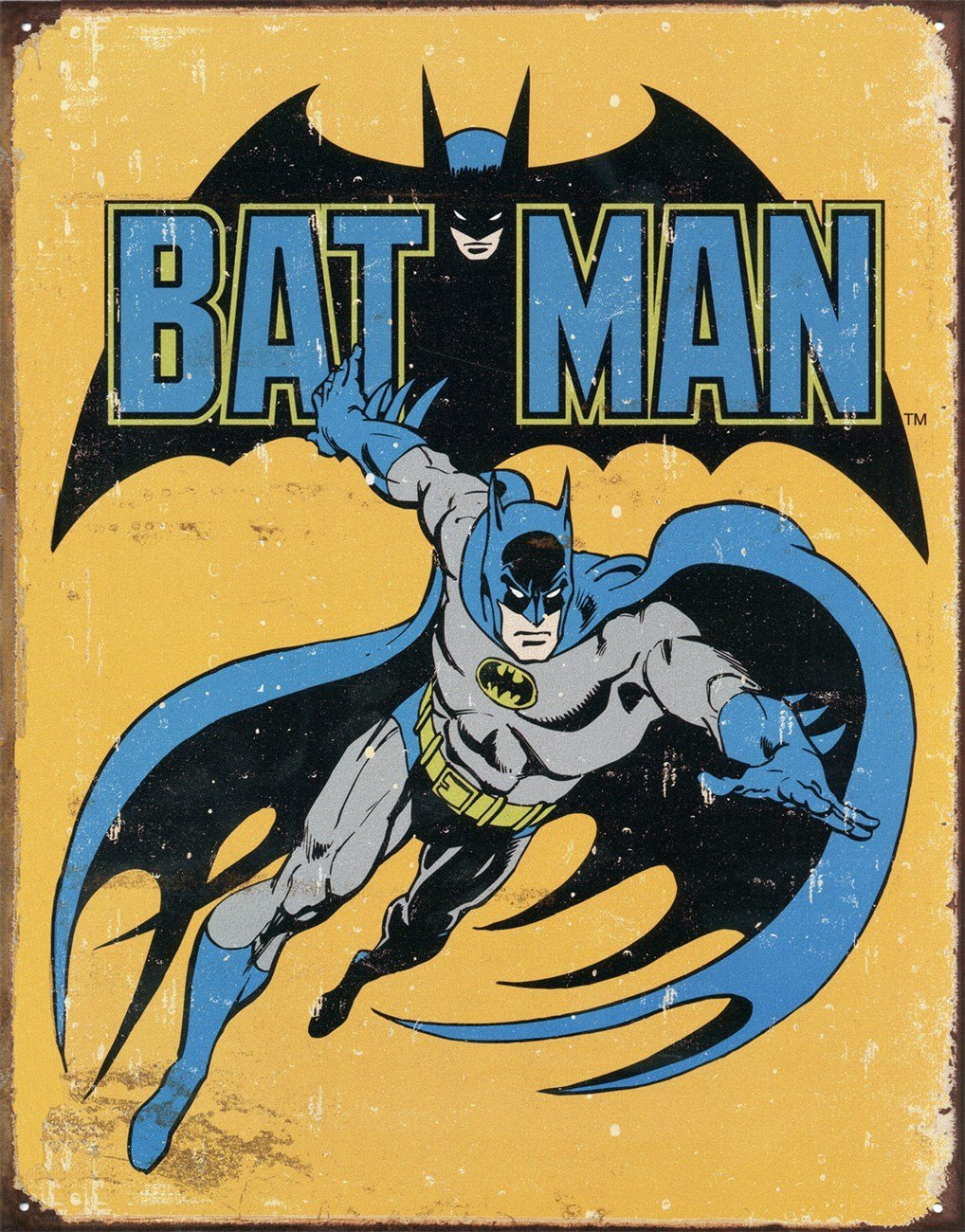Tin Sign Batman - Retro. MS1357