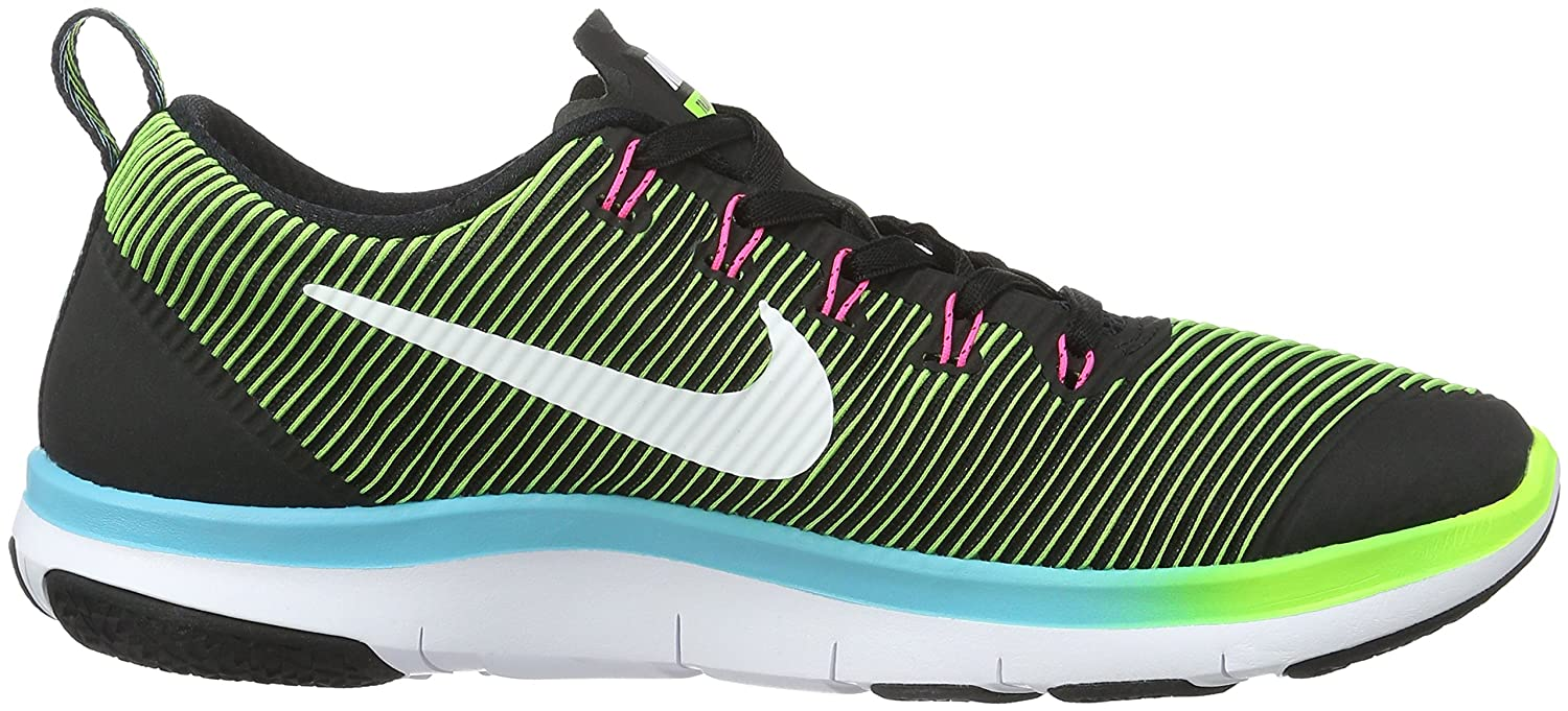 87d1eb058 Nike Men's Free Train Versatility Black and White Running Shoes - 8  UK/India (42.5 EU)(9 US): Buy Online at Low Prices in India - Amazon.in