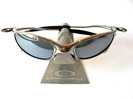 2944b21032 Genuine Oakley Juliet X-Metal Polished Titanium Sunglasses (Silver Mirror):  Amazon.co.uk: Clothing