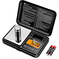 KeeKit Digital Mini Scale, 200g 0.01g Upgraded Pocket Scale with 50g Calibration Weight, Electronic Smart Scale with…