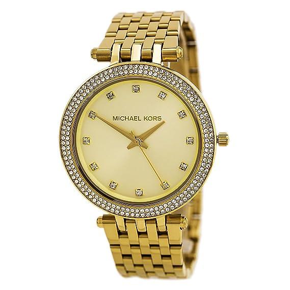 Michael Kors Reloj analogico para Mujer de Cuarzo con Correa en Acero Inoxidable MK3216: Michael Kors: Amazon.es: Relojes
