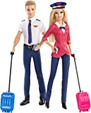 Barbie Careers Barbie and Ken Doll Pilots Giftset (2-Pack)