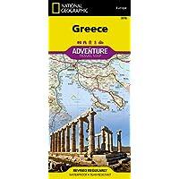 Greece Travel Maps International Adventure Map (National Geographic Adventure Travel Maps)