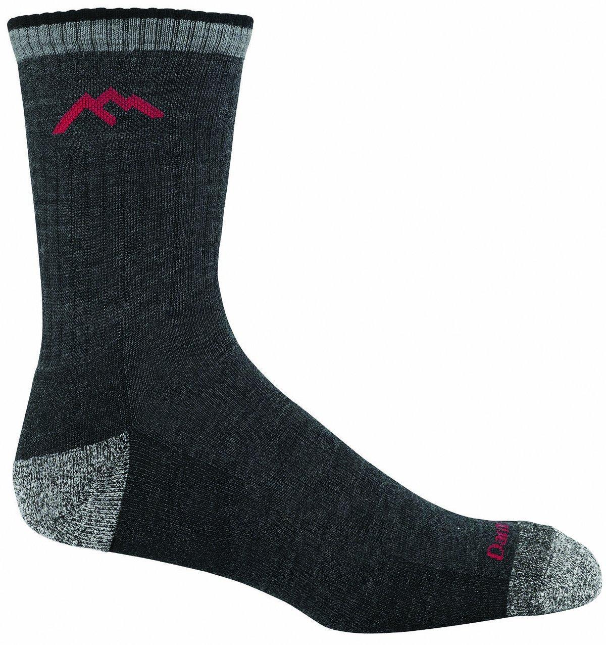 Darn Tough Merino Wool Micro Crew Sock Cushion,Black,Large