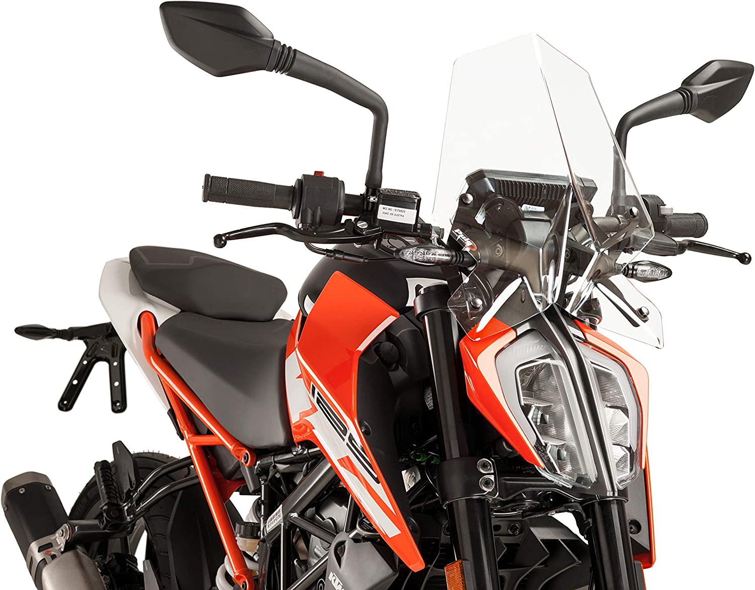 Puig 9514W Windshield Naked New Generation Sport, Clear