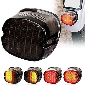 Tail Running /& Brake Signal LED Light Strip For Harley Davidson Dyna Glide