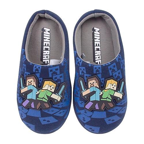 Minecraft - Pantuflas/Zapatillas de Estar por casa para ...