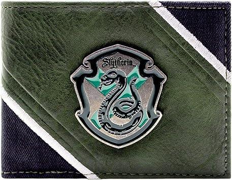 Harry Potter Salazar Slytherin Cr/ête Noir Portefeuille